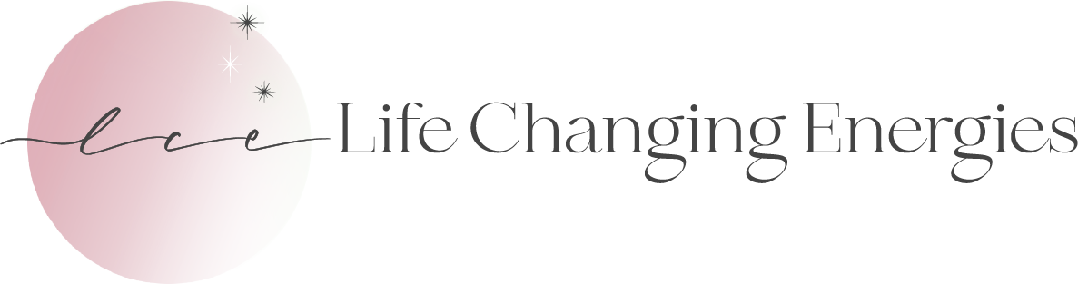 Life Changing Energies logo with transparent background