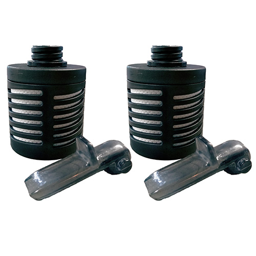 A product image of PiMag® Sports Bottle replacement filters with a white background